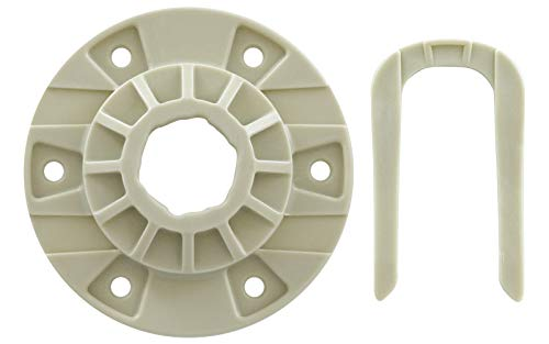 Upgraded Washing Machine Hub Kit W10528947 by PartsProer, Replaces Kenmore Crosley Whirlpool Washing Machine Parts W10396887, PS6012095, EAP6012095
