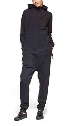 Onepiece Damen Jumpsuit Dodge, Grau (Black) - 4