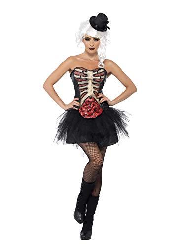 Smiffys Generic - 355 774 - Disfraz de Halloween Esqueleto Pecho Abierto Mujer - Talla M