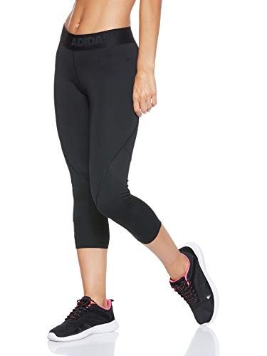 adidas Damen Alphaskin Sport 3/4 Tights, Black, XS - 3