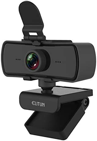 QHD USB Computer Camera 2k Better Than 1080P Web Camera with Privacy Cover Wide Angle Webcam product image