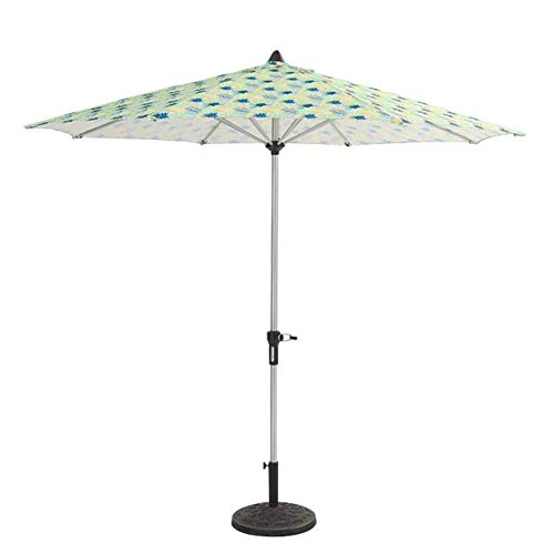 LY88 Parasols 9' Beach Patio Pool Paraplu Outdoor Tuin Tafel Paraplu Met 8 Stevige Ribben & Aluminium Paal