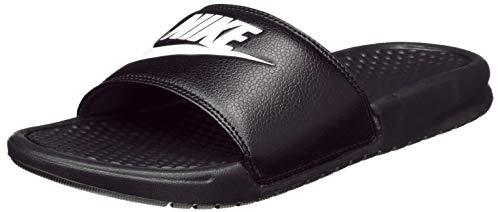 Nike Nike Benassi Jdi, Herren Flip Flop, Schwarz (Weiß/Schwarz), 36 EU