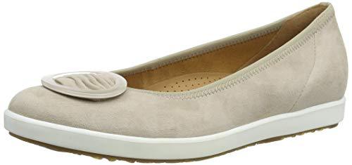 Gabor Shoes Damen Comfort Sport Geschlossene Ballerinas, Beige (Desert 34), 38 EU
