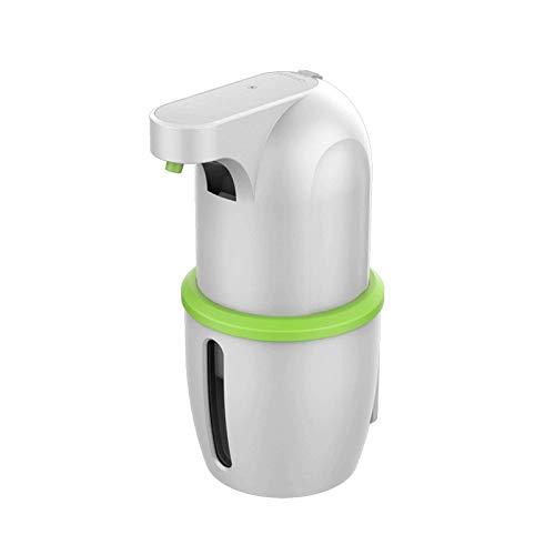 JFGX Dispensador de jabón automático, 300ml Sensor infrarrojo sin Contacto Dispensadores de jabón en Espuma IPX5 Resistente al Agua sin Contacto