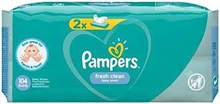 Pampers 81688037 Fresh Clean Baby chusteczki nawilżające, białe
