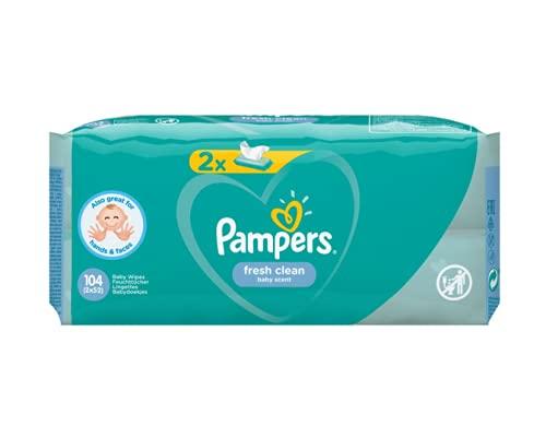 Pampers 81688037 - Fresh clean toallitas húmedas, unisex