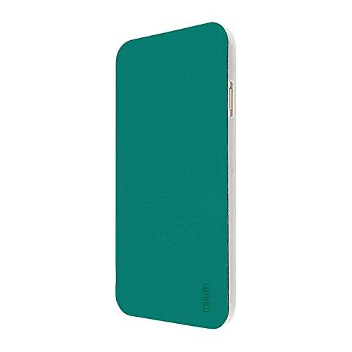 Artwizz 8645-1631 Smartjacket Etui für Apple iPhone 6 6s - Schutz-Hülle im Metall-Look mit Frontcover, Rückseitenschutz und geschmeidigen Grip - Designed in Berlin - Forest/Grün