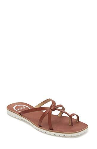 Etienne Aigner Malta - Strappy Leather Sandal In Cognac