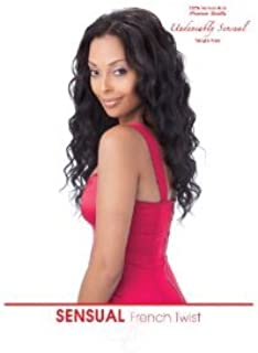 French Twist 100% Human Hair Weave Extensions By Sensual, 10