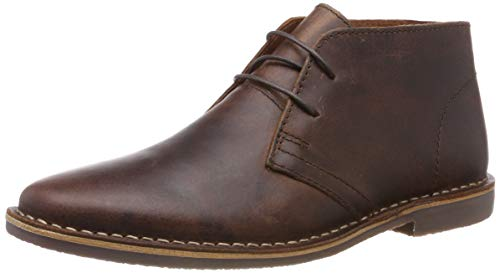 Red Tape Herren Gobi Chukka Boots, Braun (Wood 0), 43 EU
