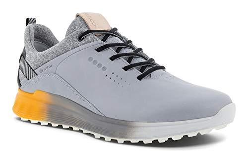 ECCO Men's S-Three Golf Shoe, Silver Grey, 9 UK
