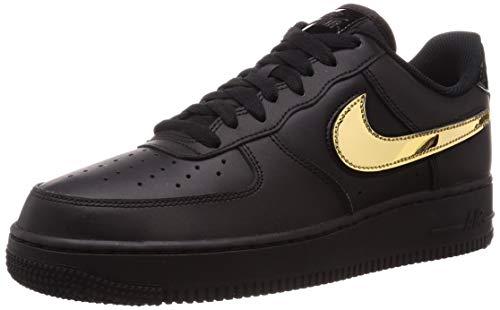 Nike Air Force 1 '07 LV8 3, Zapatillas de Baloncesto para Hombre, Negro (Black/Black/Black/White 1), 52.5 EU