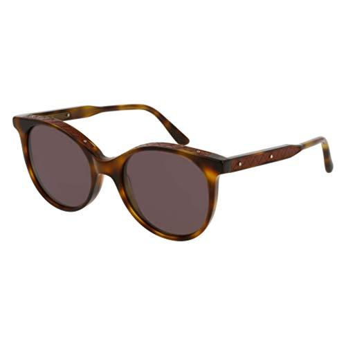 Bottega Veneta Gafas de Sol DNA BV0067S HAVANA/DARK BROWN 52/19/145 mujer