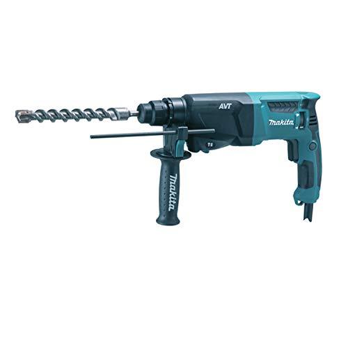 Makita HR2601 110 V SDS Plus AVT 26 mm Rotary Hammer Drill in a Carry Case