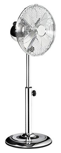 Tristar VE-5952 Ventilatore a piantana, 30 W, 52.2 Decibel, Metallo, Argento