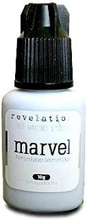 No Tears/Burn, Marvel Eyelash Extension Glue- 10g by Revelation. For those with chemical Sensitivity. Eyelash Extension Adhesive!