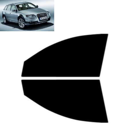 Láminas Solares para Tintar Las Lunas del Coche-Audi A6 Allroad 5-Puertas Familiar 2006-2012 Ventanas Laterales Delanteras (70% Ahumado Ultra Ligero)