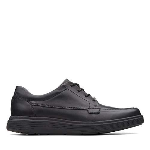 Clarks Un Morada Facilidad Mens Casual Cuero Zapatos De Encaje