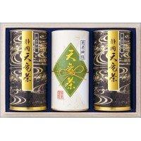 静岡銘茶天竜茶詰合せ(木箱入り) 煎茶(神緑)150g×3 TNR-100 0894165