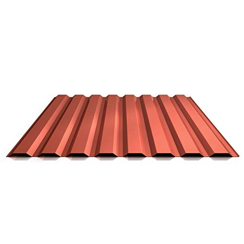 Trapezblech   Profilblech   Wandblech   Profil PS20/1100TW   Material Stahl   Stärke 0,40 mm   Beschichtung 25 µm   Farbe Kupferbraun