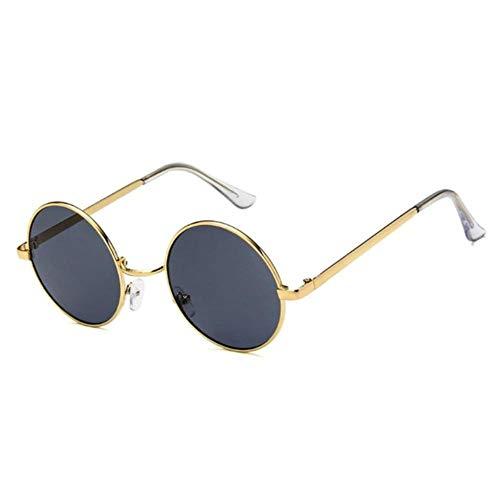 Gbc-Type, elegant brilmontuur, rond, van metaal, retro-zonnebril van metaallegering, voor dames en heren, veiligheidsbril met 4 stijlen