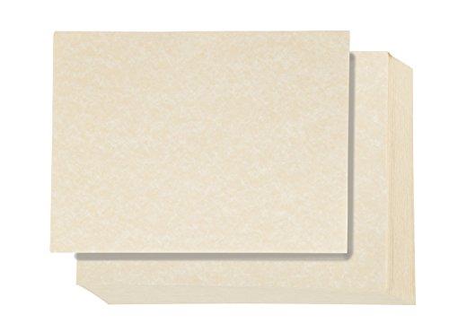 Briefpapier im Vintage-Stil, elfenbeinfarben, 21,6 x 27,9 cm, 96 Blatt