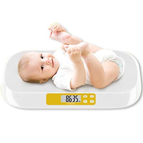 Babyweegschalen, Weegschalen, Intelligente Digitale Elektronische Weegschalen, Gebruikt Voor Huishoudelijke Weegschalen Voor Pasgeboren Babys, Kinderen Met Een Gewicht Tot 20 Kg,White,560*330*46mm