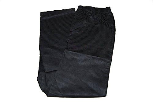 OTTO KERN Herren Schlafanzughose Web Hose lang 100% Baumwolle Schwarz Grösse L