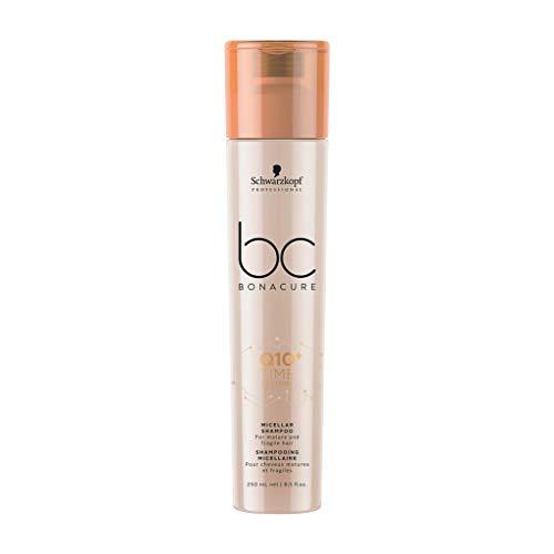 Schwarzkopf BC Bonacure Q10 Time Restore Shampoo 250 ml Reinigt & stärkt reifes Haar Time Restore Micellar Shampoo