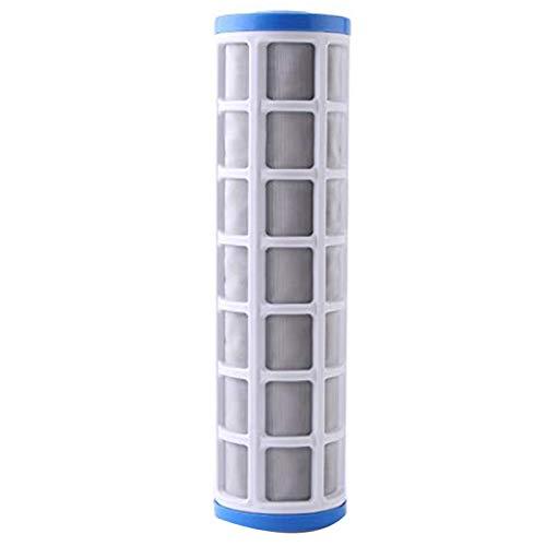 Adanse Filtro prefiltro de agua de malla de acero inoxidable de 25,4 cm para evitar depósitos de cal