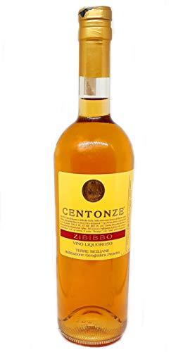 Sicilia Bedda - Vino Liquoroso Zibibbo TERRE SICILIANE IGP - CENTONZE - Bottiglia da 75 Cl (1 Bottiglia da 75 cl)