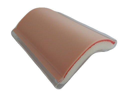 Skin Pad with Holder - 3 Layer Flesh Skintone Color with Free 12 x Needles and Free 1 x Needle Holder