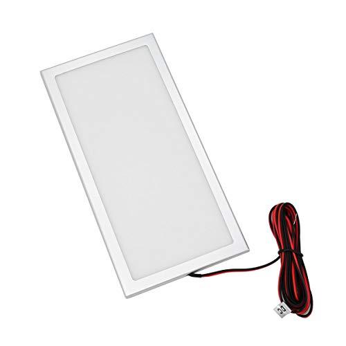VBLED Mini LED Panel Unterbauleuchte 12VDC / 7,5W / 100x200x5mm Deckenleuchte/Rasterleuchte/Küchenleuchte ultraflache
