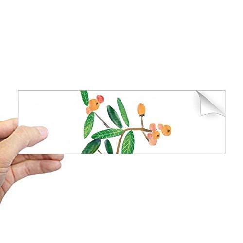 DIYthinker Natuurlijke planten Soloisland Schilderij Rechthoek Bumper Sticker Notebook Window Decal