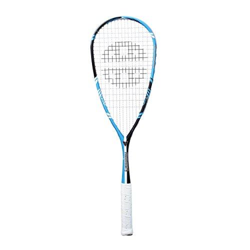 Unsquashable Squash Schläger Y TEC 5000 C4 2013, Schwarz/Cyan, 11