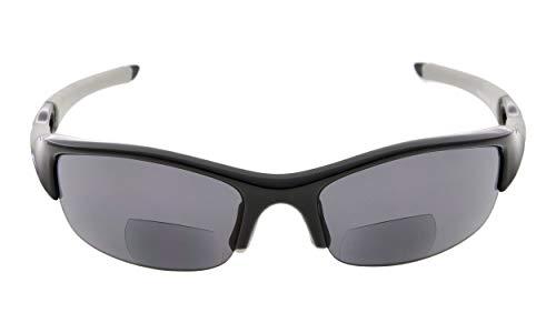 Eyekepper TR90 Onbreekbare halfronde sportieve bifocale zonnebrillen baseball running vissen golfbal wandelen leesbril