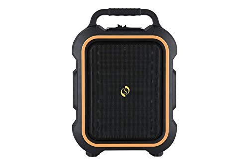 Ahuja STUDIOMASTER Professional MUSE 61 Portable PA System 15W RMS with in-Built USB, SD/MMC Media Player, Recorder and Bluetooth