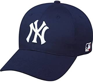 763d1634328 New York Yankees ADULT Adjustable Hat MLB Officially Licensed Major League  Baseball Replica Ball Cap