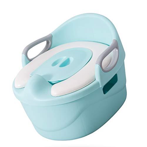 ZYLBDNB Asientos de Inodoro para niños Convertible Entrenamiento del retrete Orinal bebé Asiento cómodo portátil Plegable WC Entrenamiento insignificante del bebé Baño para niños