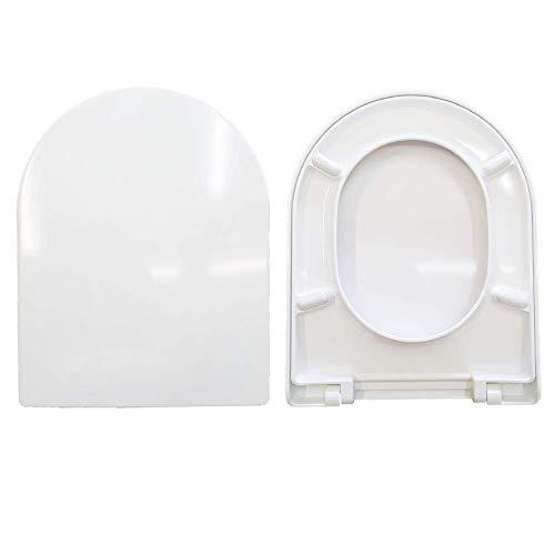 Tapa de inodoro Magnum Villeroy & Boch termoendurecible, color blanco