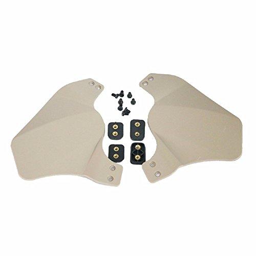 OAREA Seitenabdeckung für schnelle Helmschiene Airsoft militärische Taktische Helm Zubehör weichen Gummi Material Zwei Gehörschutz umfasst