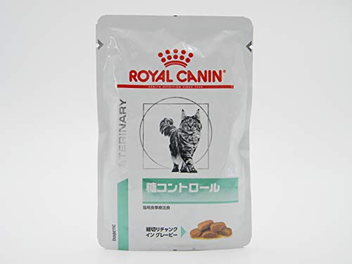 【療法食】 ロイヤルカナン キャットフード 糖コントロール パウチ 85グラム (x 24)