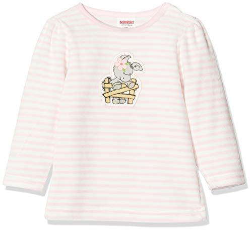 Schnizler Baby-Mädchen Sweat-Shirt Nicki Ringel Esel Sweatshirt, Rosa (Rosa 14), (Herstellergröße: 62)