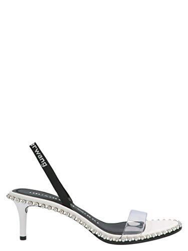 Moda De Lujo | Alexander Wang Mujer 30C219S025100 Blanco Otros Materiales Sandalias | Temporada Permanente