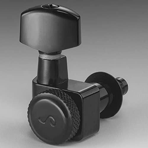 Schaller Mechaniken – Original F-Serie Locking Tuner Schwarz Chrom