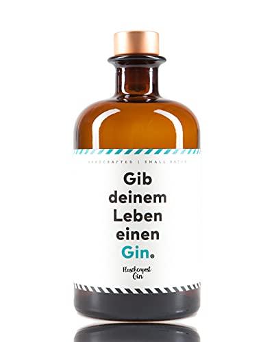 FLASCHENPOST GIN - Gib deinem Leben einen Gin - Handmade Deutscher Premium Gin mit frischen Zitrus- und Wacholdernoten (1 x 0,5l)