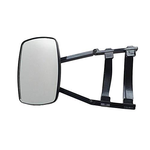 Wohnwagenspiegel, Asudaro Außenspiegel für Wohnmobile Universal Wohnwagenspiegel Erweiterung Caravanspiegel Zusatzspiegel für Wohnwagen, Universalspiegel,Schwarz