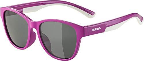 ALPINA Unisex - Kinder, FLEXXY COOL KIDS II Sonnenbrille, berry-white, One size