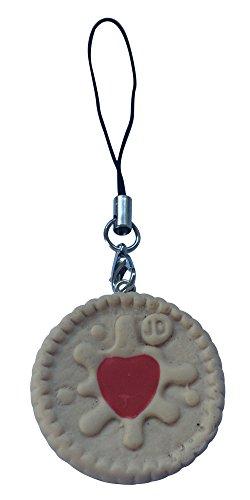 Keks Handyanhänger Ornament Jammy Dodger